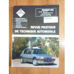 205 GTI 1.6 -88 Revue Technique PEUGEOT