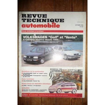 Golf Vento Ess 92- Revue Technique Volkswagen
