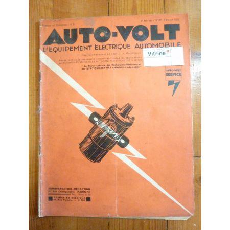 Eclairage Revue Technique Electronic Auto Volt