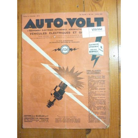 Démarrage Revue Technique Electronic Auto Volt