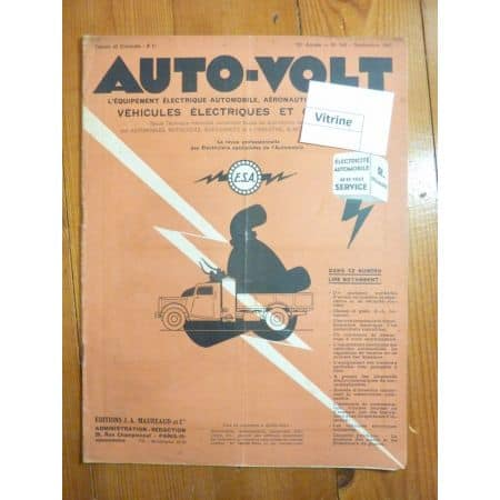 Régulateurs de tension Revue Technique Electronic Auto Volt