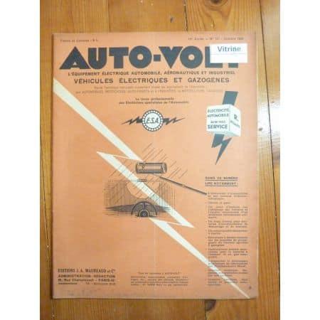 Allumage par batterie Revue Technique Electronic Auto Volt