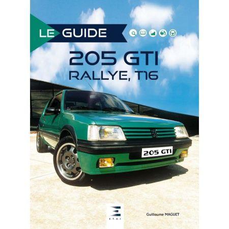 Guide 205 GTI-Rallye-T16 - Livre