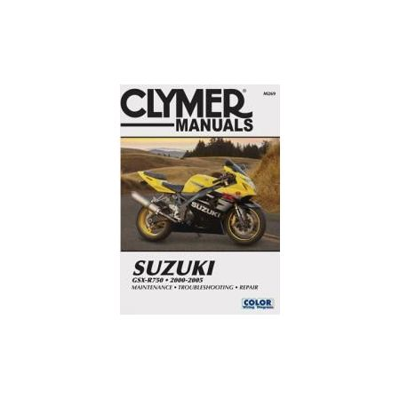 GSX-R 750 00-05 Revue technique Clymer SUZUKI Anglais