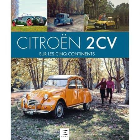 2CV 5 continents - Livre