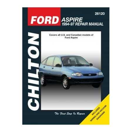 Aspire 94-97 Revue technique Chilton FORD Anglais