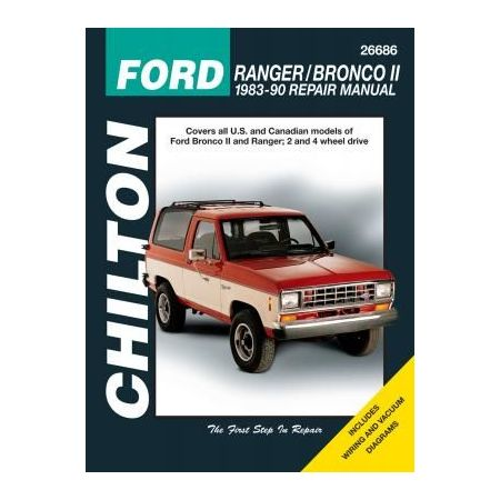 Ranger Bronco II 83-90 Revue technique Chilton FORD Anglais