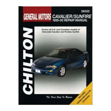 Cavalier & Sunfire 95-00 Revue technique Chilton GM Anglais