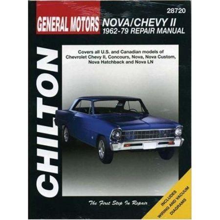 Nova & Chevy II 62-79 Revue technique Chilton CHEVROLET Anglais