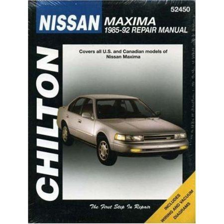Maxima 85-92 Revue technique Chilton NISSAN Anglais