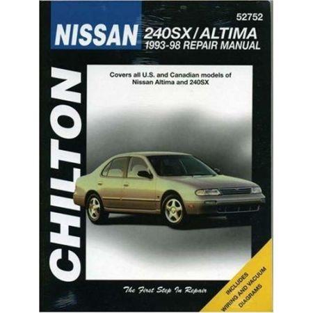 240SX & Altima 93-98 Revue technique Chilton NISSAN Anglais