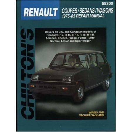 Coupes, Sedans & Wagons 75-85 Revue technique Chilton RENAULT Anglais