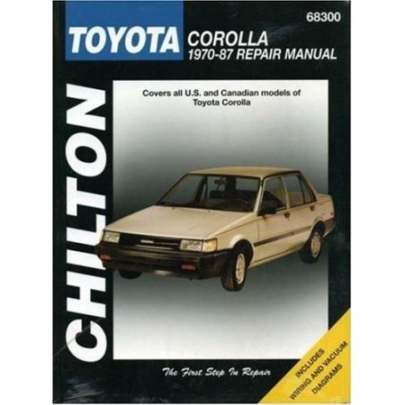 Corolla 70-87 Revue technique Chilton TOYOTA Anglais