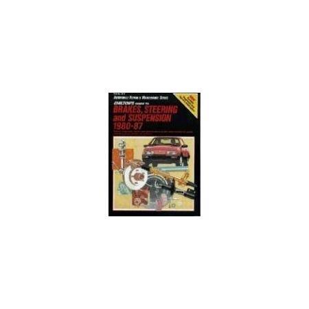 Brakes/Steering/Suspension 80-87 Revue technique Chilton Anglais