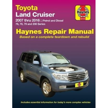 Land Cruiser 07-16 Revue technique Haynes TOYOTA Anglais