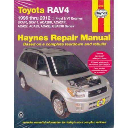 RAV4 94-12 Revue technique Haynes TOYOTA Anglais