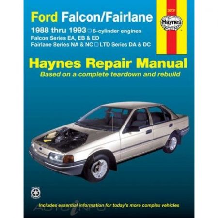 Falcon & Fairlane 88-93 Revue technique Haynes FORD Anglais