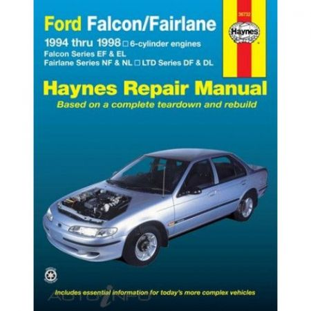Falcon & Fairlane 94-98 Revue technique Haynes FORD Anglais