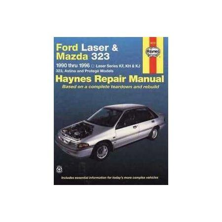 Laser & 323 90-96 Revue technique Haynes FORD MAZDA Anglais