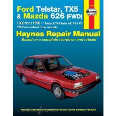 Telstar & TX5 & 626 83-90 Revue technique Haynes FORD MAZDA Anglais
