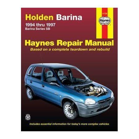Barina 94-97 Revue technique Haynes HOLDEN OPEL Anglais