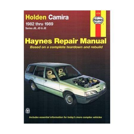 Camira 82-89 Revue technique Haynes HOLDEN OPEL Anglais