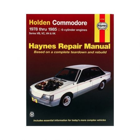 Commodore 78-85 Revue technique Haynes HOLDEN OPEL Anglais