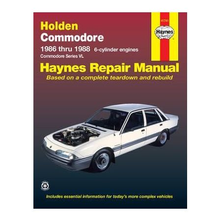 Commodore 86-88 Revue technique Haynes HOLDEN OPEL Anglais