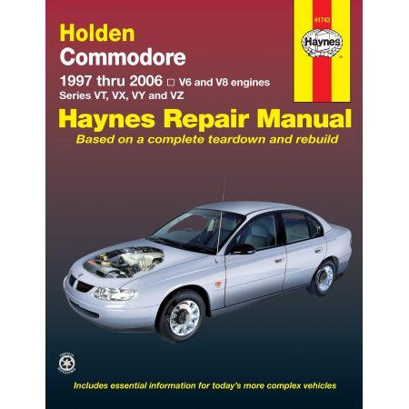 Commodore 97-06 Revue technique Haynes HOLDEN OPEL Anglais
