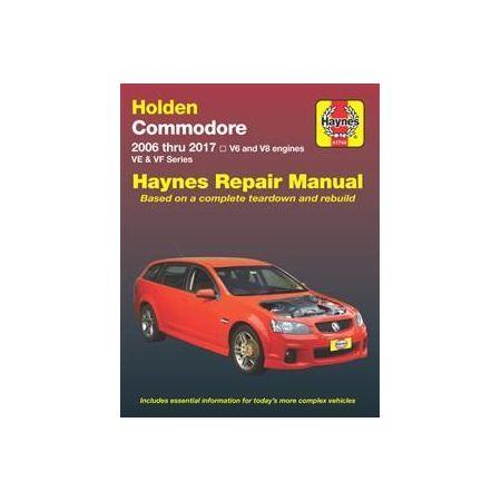 Commodore 06-17 Revue technique Haynes HOLDEN OPEL Anglais