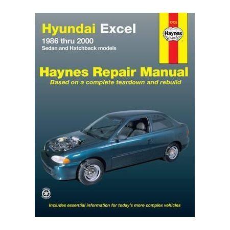 Excel 86-00 Revue technique Haynes HYUNDAI Anglais