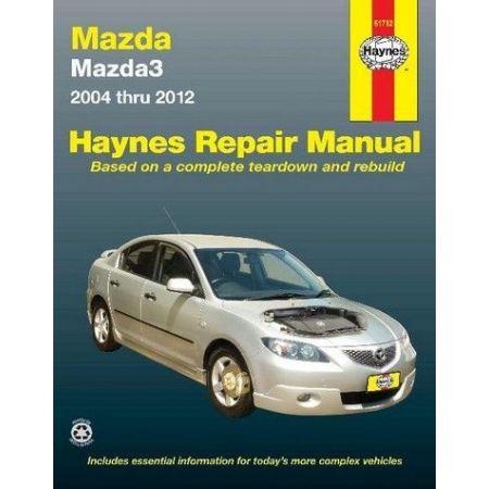 Mazda3 04-12 Revue technique Haynes MAZDA Anglais