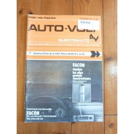 Ritmo 60 65 75 Revue Technique Electronic Auto Volt Fiat