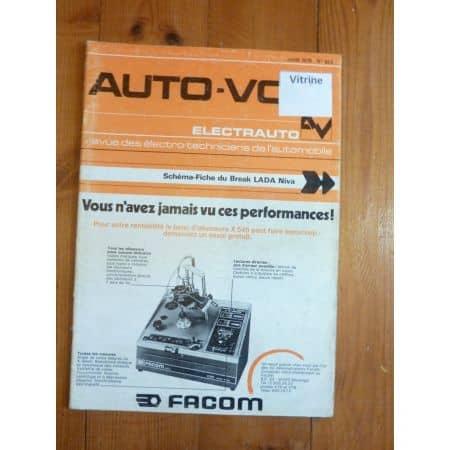 Niva Bk Revue Technique Electronic Auto Volt Lada