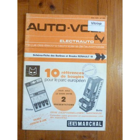 R18 Revue Technique Electronic Auto Volt Renault