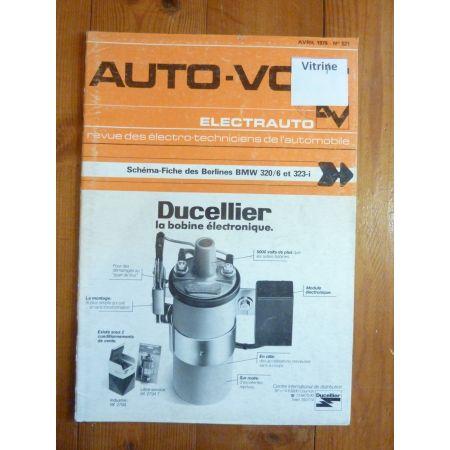 320/6 323i Revue Technique Electronic Auto Volt Bmw