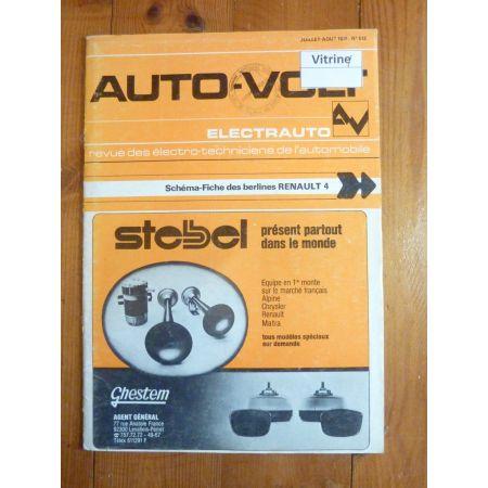 R4 Revue Technique Electronic Auto Volt Renault