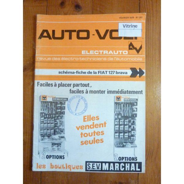 127 Brava Revue Technique Electronic Auto Volt Fiat