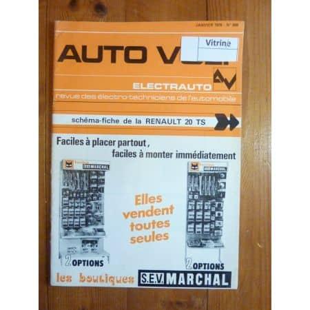 R20 TS Revue Technique Electronic Auto Volt Renault