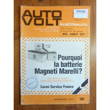 Kadett City Revue Technique Electronic Auto Volt Opel
