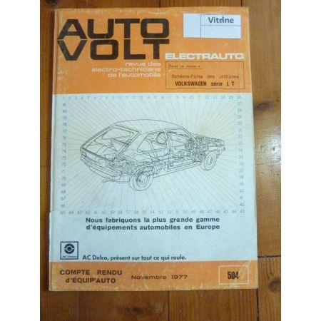 Série LT Revue Technique Electronic Auto Volt Volkswagen