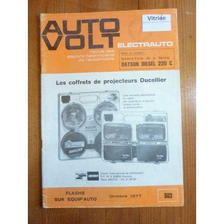 220C Die Revue Technique Electronic Auto Volt Datsun