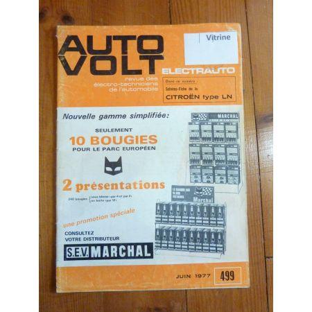 LN Revue Technique Electronic Auto Volt Citroen