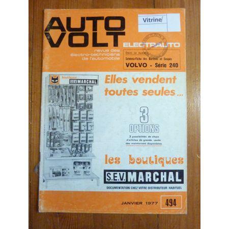 Série 240 Revue Technique Electronic Auto Volt Volvo