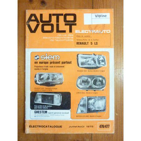 R5 LS Revue Technique Electronic Auto Volt Renault