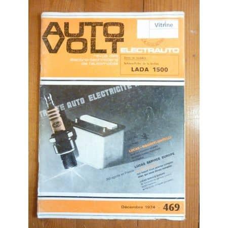 1500 Revue Technique Electronic Auto Volt Lada
