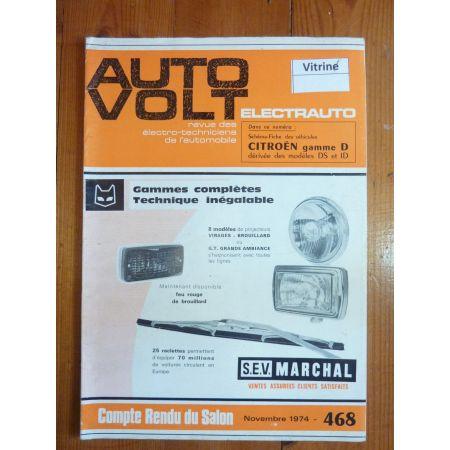 DS ID Revue Technique Electronic Auto Volt Citroen