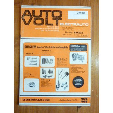 S100 S110 Revue Technique Electronic Auto Volt Skoda