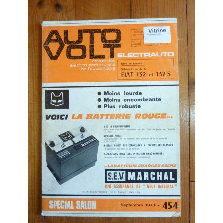 132 132S Revue Technique Electronic Auto Volt Fiat