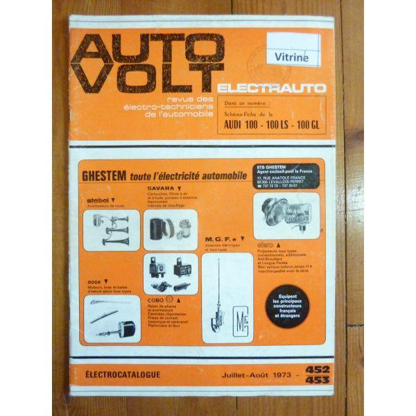 100 Revue Technique Electronic Auto Volt Audi
